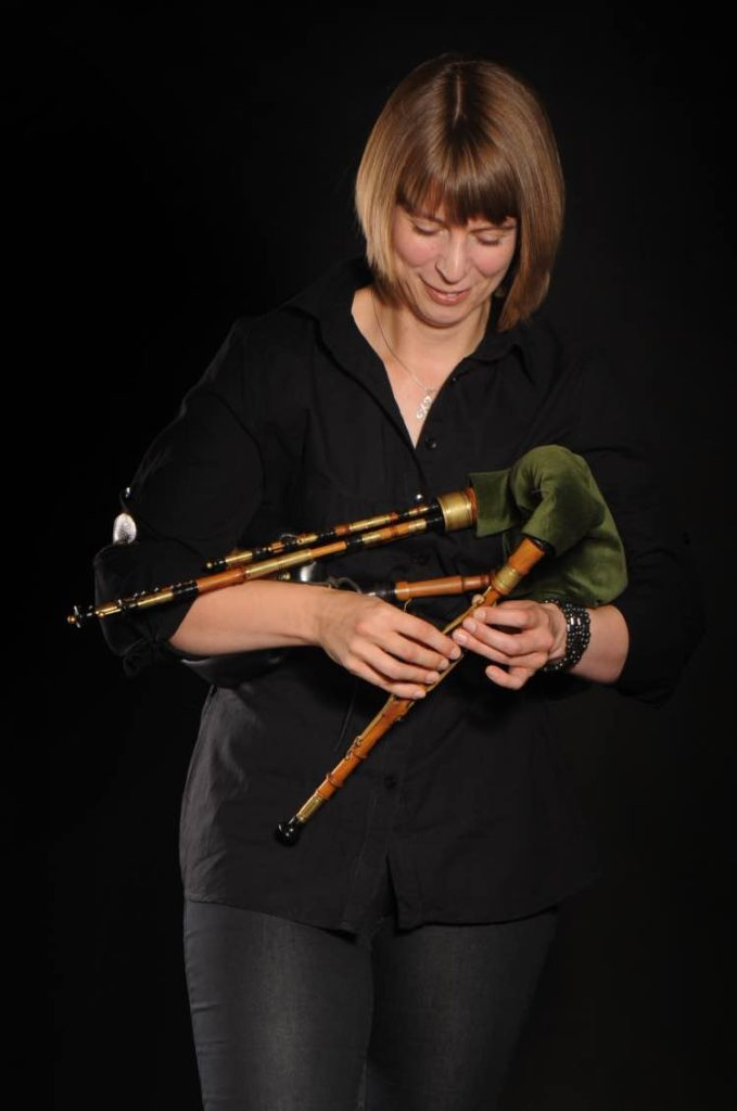 Northumbrian Smallpipes played by Becky Taylor made by Colin Ross