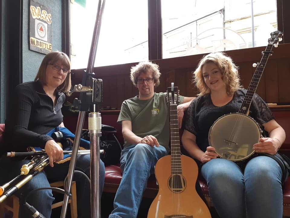 Atlas Bridge Band at the Sparrow Cafe in Bradford, May 2019